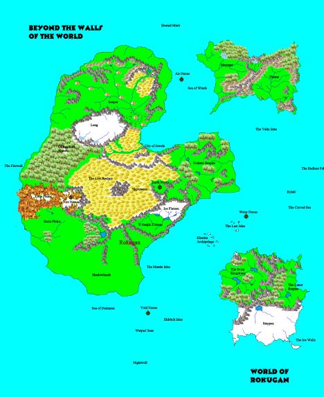 Rokugan, Beyond the Imperial Borders